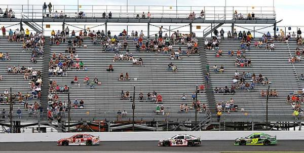 NASCAR empty stands