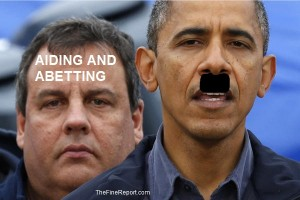 Chris Christie and Obama edited