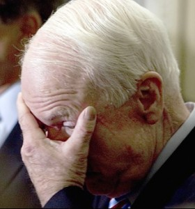McCain crying