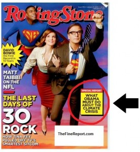 Rolling stone global warming
