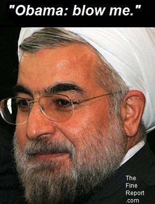 Iranian president Rowhani