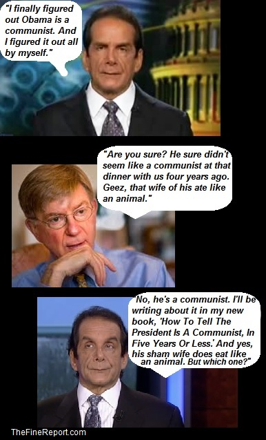 Krauthammer and Will