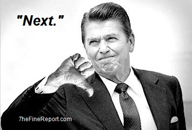 Ronald Reagan thumbs down edited