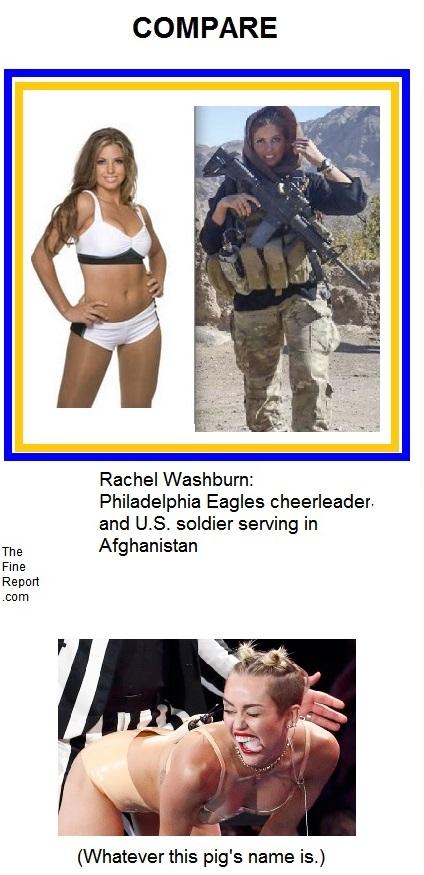 Rachel Washburn compare
