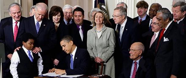 Obamacare last signing