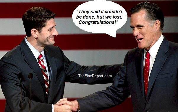 Ryan romney we lost