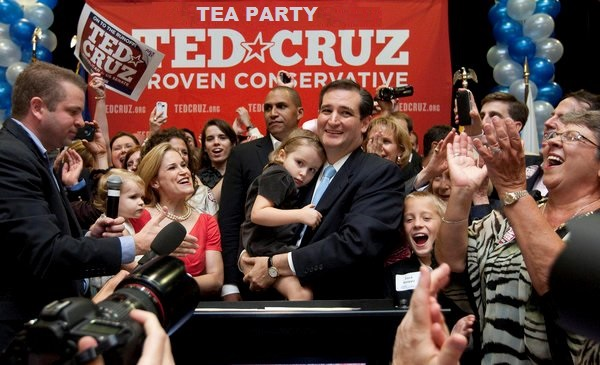 Ted Cruz group photo Tea Party