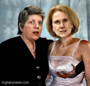 Janet Napolitano by Scooter