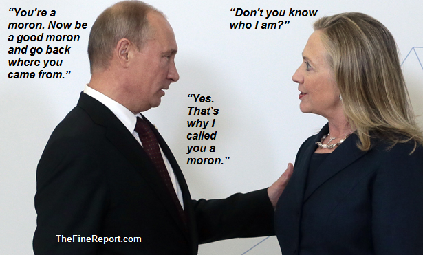 Image result for russia on hillary